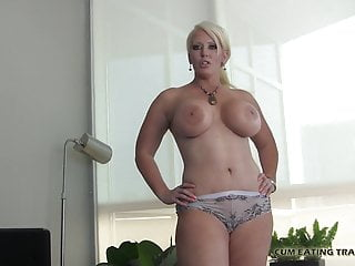 My cum your mouth - Eat your cum off my big tits cei