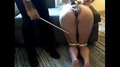 Cum, and your ass will get caned