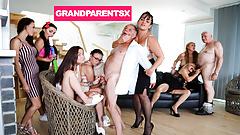Zboczona orgia dziadków część 1
