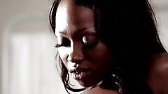 black lesbians one looks like nikki minaj but its not her