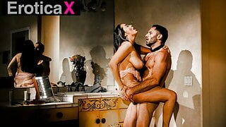 EroticaX - Busty Influencer Plowed All Over Her Mansion