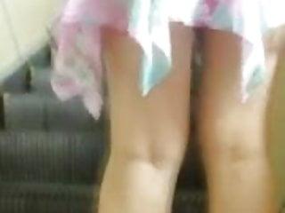 Upskirt panty peeking Panty peek 15