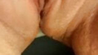 using my favroute pink dildo