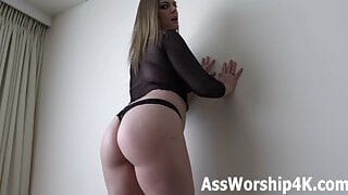 Dominated by Mistress Joslyn James's big ass!