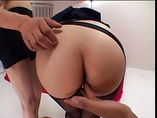 Pussy tough and hot fucking Fragile asian chick are fucked hard and fed cum by tough fuckers