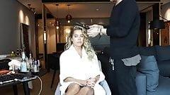 Oops! Dutch Celeb Sylvie Meis Upskirt