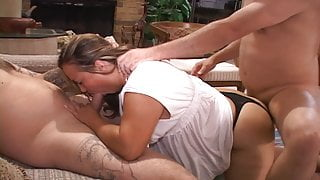 BBW Step Mom Got Butt Fucked And Double Penetrated