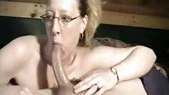 Housewife amazing Blowjob on  neighbor