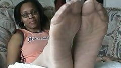 Ebony Pantyhose Feet 6