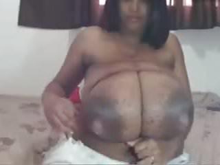 Lactating latina porn - Monster natural tits milked and tied