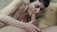 Old grandma needs a hard cock