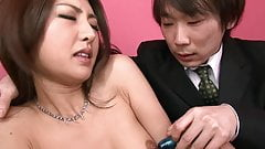 Guy likes to make a girl cum till she and then collect it