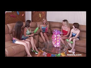 My sisters 18th birthday party orgy - Teenrs.com birthday party gang bang