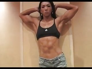 Fitness model nude pic - Gorgeous korean fitness model