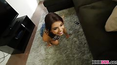 Step Sister Gina Valentina is horny