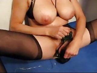 Old mature tit torture - Mature mom big tits and clit torture 6