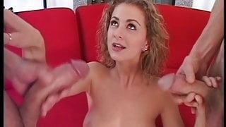 Anna Belle (21yr) is a Young Cum Dripper