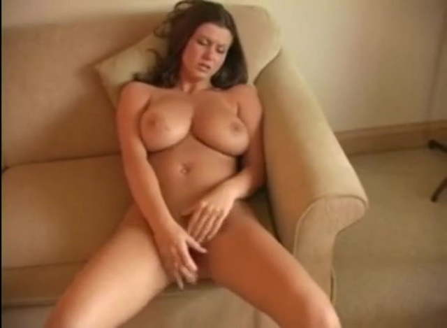 Chubby Wife Riding Dildo