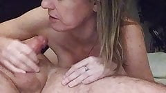 Cumming on her mouth