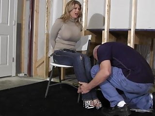 Porn by zip code Chesty blonde restrained with zip ties gagged