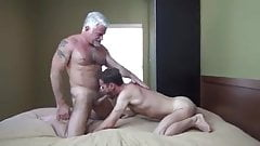 Dad Barebacks and  Breeds Son