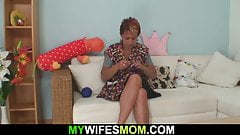 Her horny momy begging for taboo doggy-fuck