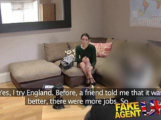 Hot milf uk - Fake agent uk hot anal action with petite italian babe