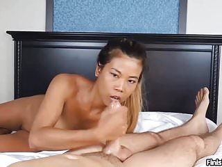 Jerking off buckets of cum - Pov asian bebe wants you to shoot buckets of cum