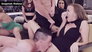 Hot Milfs Fucked by Male Strippers