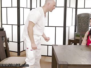 Tranny tricks guy Fantasymassage lesbian milf tricked into fucking guy