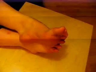 Sexy woman film - Chunky french womans soles, being filmed my feet lover