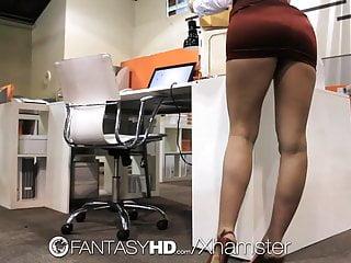 Free naughty office porn Hd fantasyhd - naughty secretary lily carter fucks in office