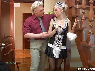 Housekeeping catches man naked video Fat man fucked his housekeeper