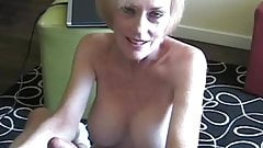Fooling Around With Hot Blonde Big Tit Amateur Granny