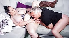 AmateurEuro - BBW Wife Abby Titts Gets Pussy Licked & Hot Sex