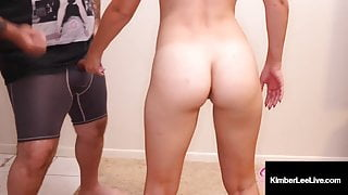 Young Kimber Lee Shakes That Ass! Twerking And Sucking Dick!