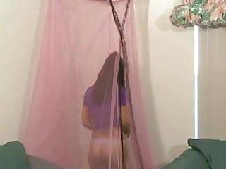 Erotica l a show 2008 - C hristina l ucci busty model show her huge tits
