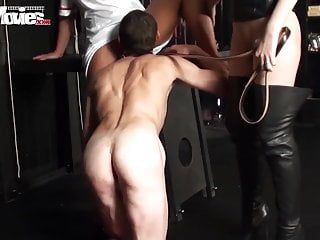 Stimulating the male penis with souunds - Funmovies male slave gets a penis punishment