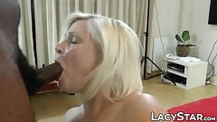 Two mature British grannies railed by multiple hard cocks