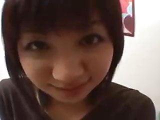 Hair asian pussy Short hair asian girl masturbated