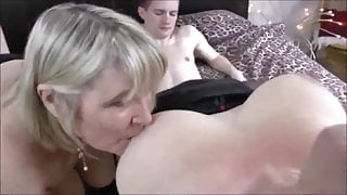 Two Naughty Mature MILFs Have Fun with Teen