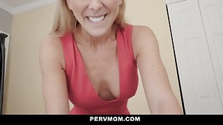 Hot Milf Cherie Deville Gets Her Stepson's Cum Inside Her