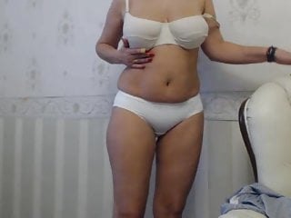 Fucking mommys panties Beautiful mommy in white panties