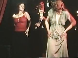 Retro strapon lesbians fucking - German vintage movie