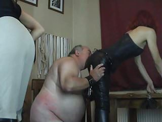 Fat Old Man BDSM Humiliation from Two Dominatrix: Porn df | xHamster
