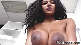 Brazilian Tina Fire with huge tits