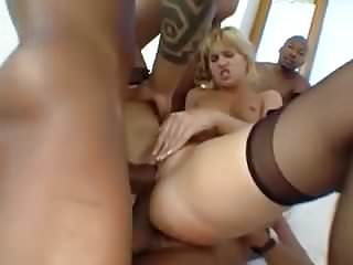 Black chicks and big dicks - White chicks and big black dicks gang bang2