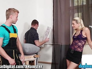 Mmf threesome lick - Doghouse mmf bisexual anal threesome