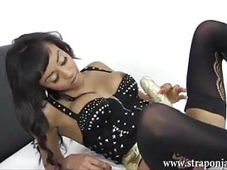 Skinny women with fat cunts Milf lezdom fucks busty babe horny wet cunt with big strapon