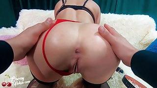 MILF Rough Sex and Anal Masturbation - Amateur